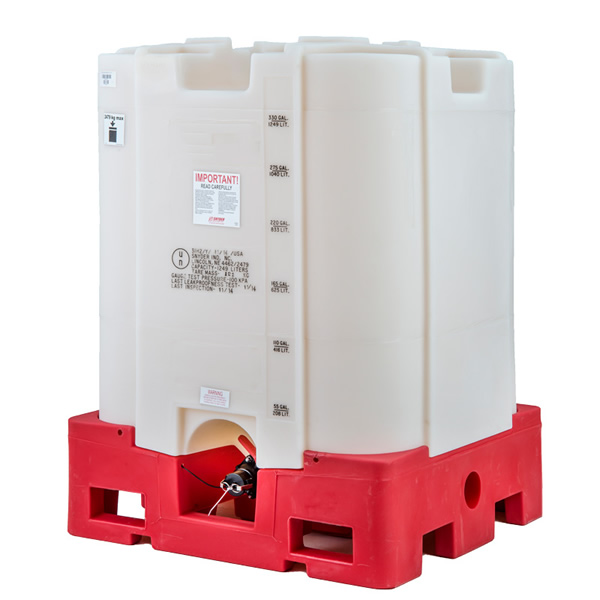 330 Gallon New Premier All Poly IBC Tote