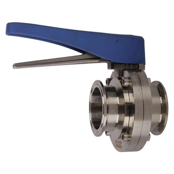 Stainless Steel Butterfly Sanitary Valve